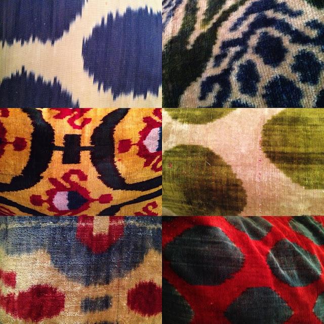 Ikat Pillow designs Istanbul