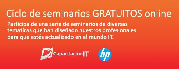 Seminarios gratuitos de HP para aprender en línea