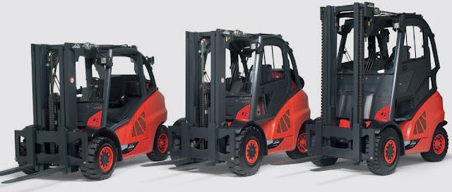 Xe nâng Linde 4 - 5 tấn diesel