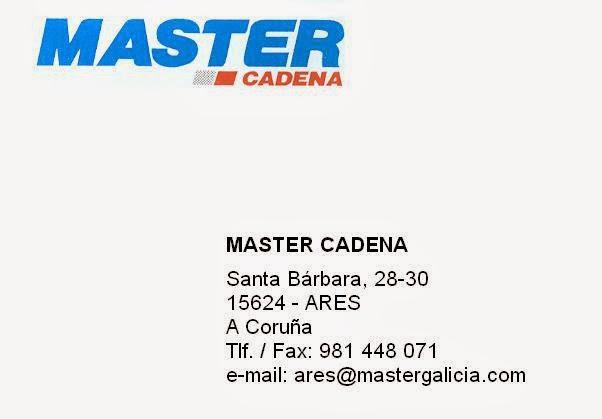 Master Cadena ARES. Colaborador coa A.D.R. Numancia de Ares.