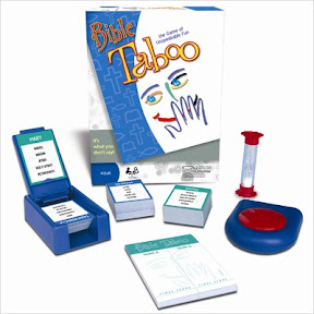 Talicor Taboo Game Bible Edition Juegos de mesa Bíblicos