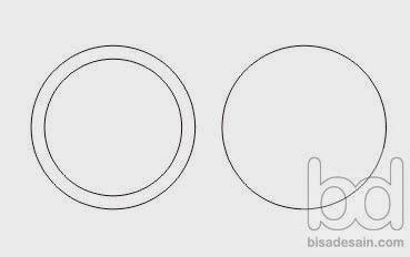 Gambar 01. Membuat efek lensa di Corel Draw