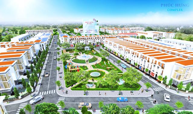 Phối cảnh dự án Phúc Hưng Complex Hưng Yên
