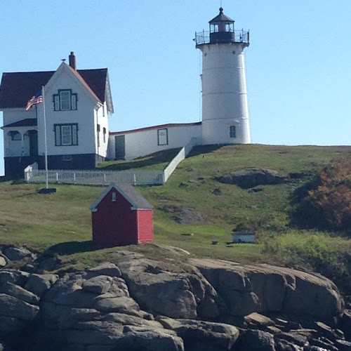 Light house on a hill