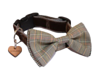 Bow Tie Designer Dog Collars at Chelsea Dogs