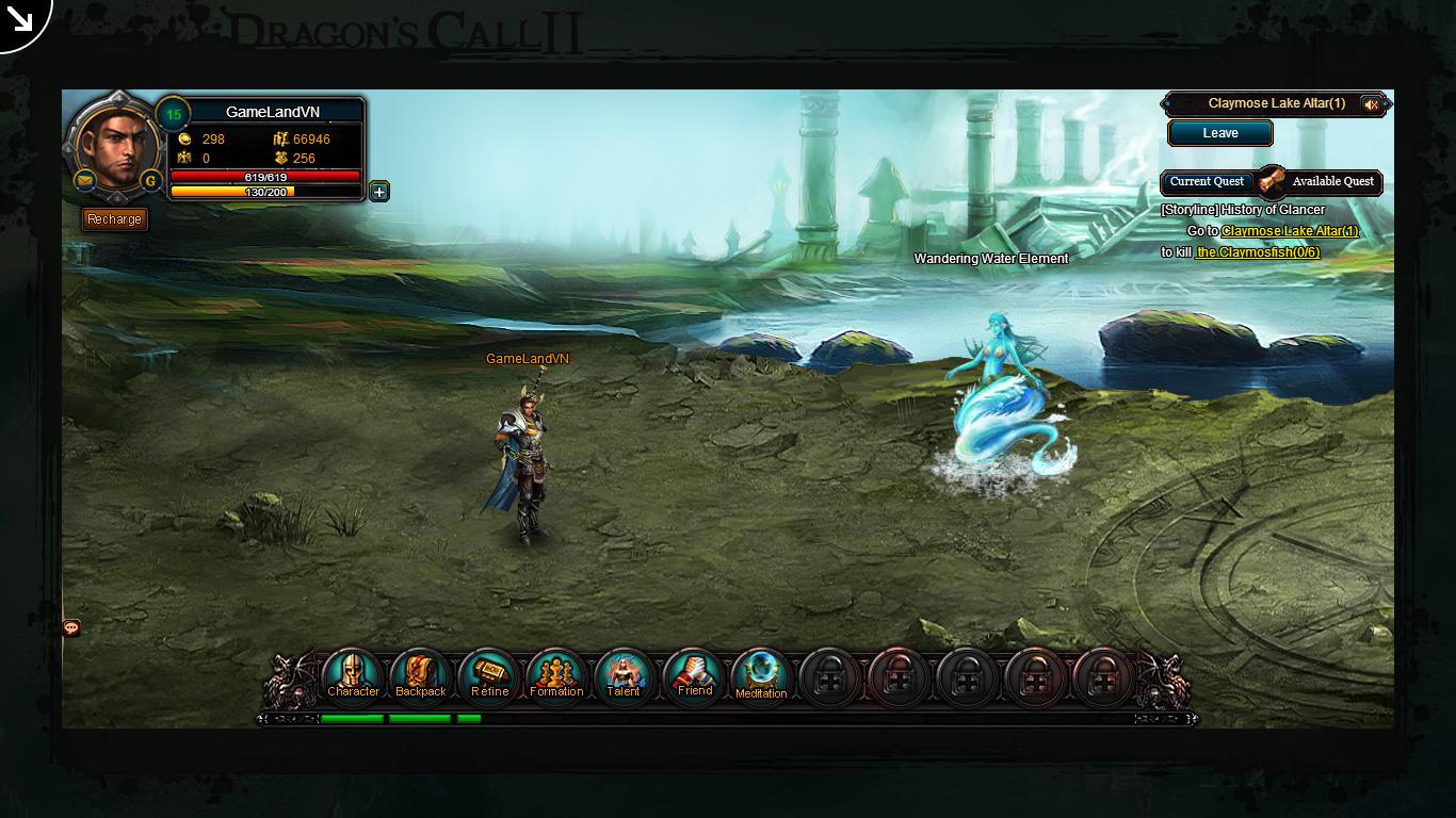 Một số hình ảnh về webgame Dragon's Call 2 - Ảnh 30