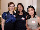 Jennifer Kain, June Oh and In Young Cho of New England School of Law