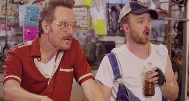 Barely Legal Pawn Featuring Breaking Bad's Bryan Cranston, Aaron Paul and Julia Louis-Dreyfus