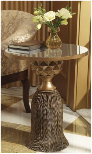 Horchow Tassel Table Copycatchic