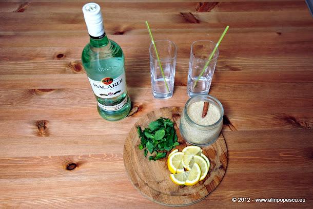 Razvan Anton - ingrediente Mojito
