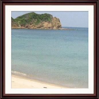 エメラルドグリーンの海に抱かれる壱岐島。