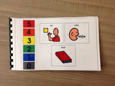Volume Scale Book for Special Education