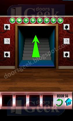 100 doors level 56 walkthrough doors geek. Black Bedroom Furniture Sets. Home Design Ideas
