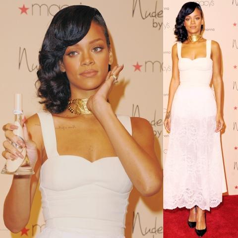 Rihanna in Custom Nini Nguyen
