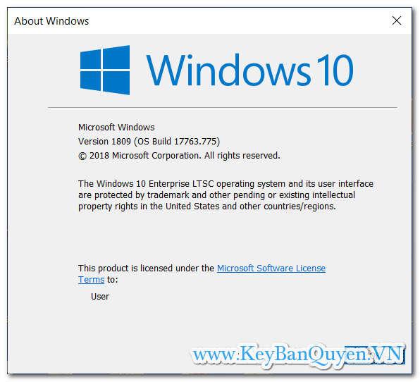 Giới thiệu và tìm hiểu về Key Bản Quyền Windows 10 LTSB LTSC 2019 và mới nhất.