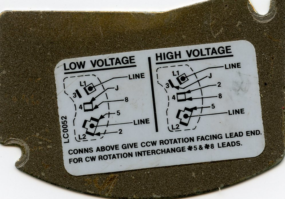 drum switch wiring for a newbie here is the wiring diagram from the motor note its wired for high voltage as shown on the right hand diagram