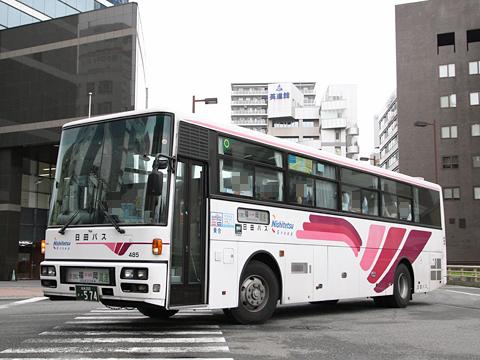 日田バス「ゆふいん号」「とよのくに号」 485