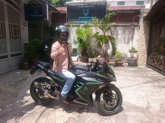 áo khoác moto