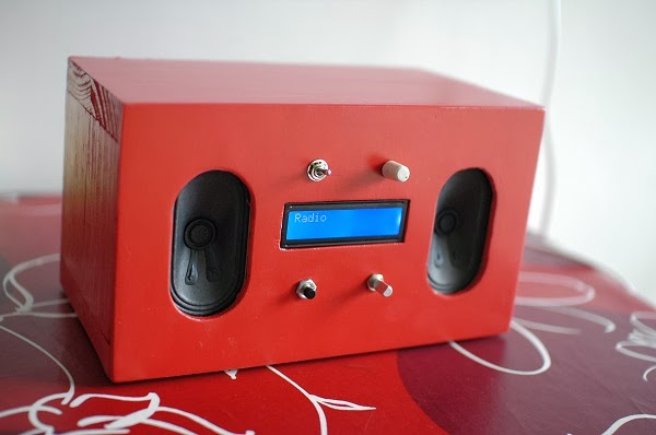 Raspberry PI jako audio server