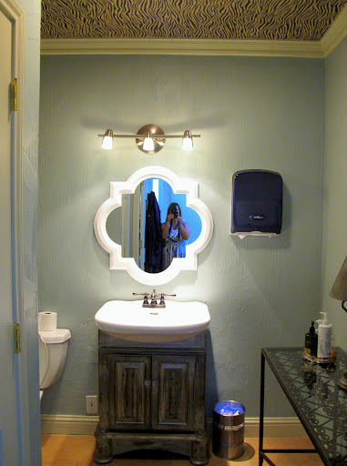 Bathroom Mirror You Look Fine how to update and revamp large mirrors in minutes