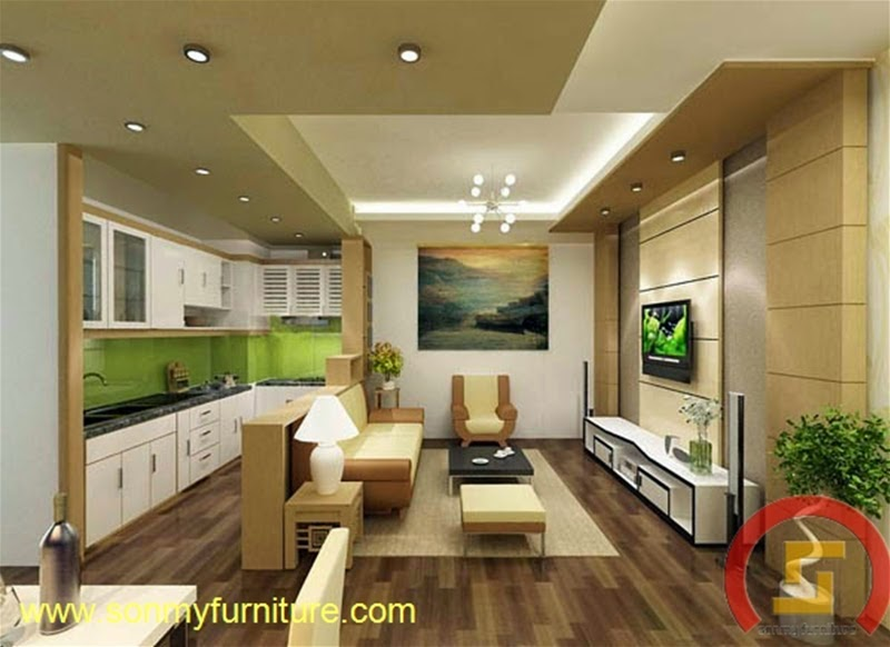 Mẫu nội thất  căn hộ SMF704