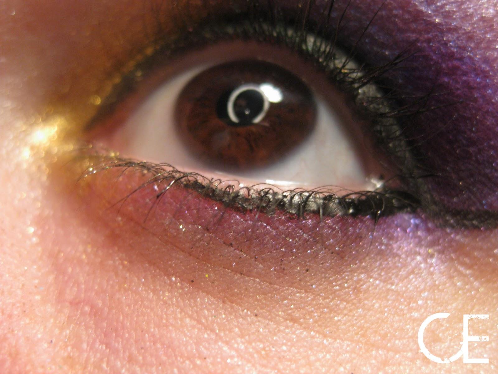 Makeup Etc Simple 10 Minute Mardi Gras Look