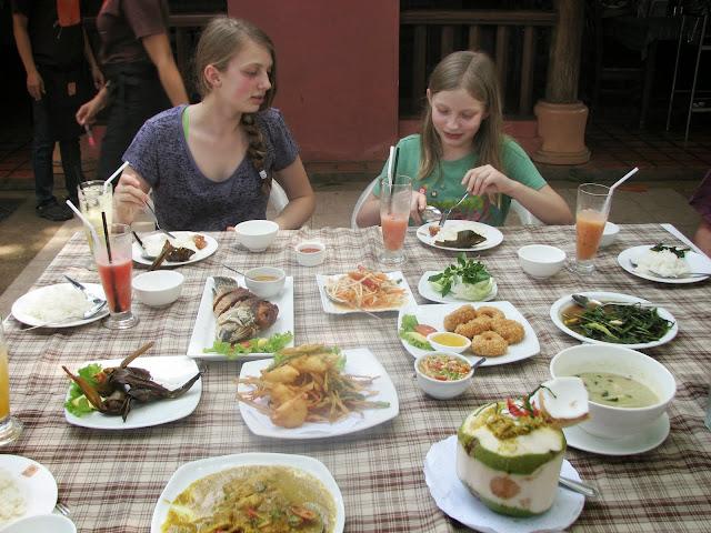 Enjoying Southern Thai food