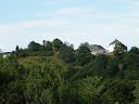 Kronenburg in der Eifel vom Tal aufgenommen