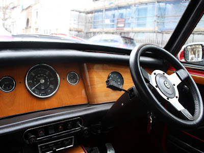 1974 Mini Cooper Dashboard