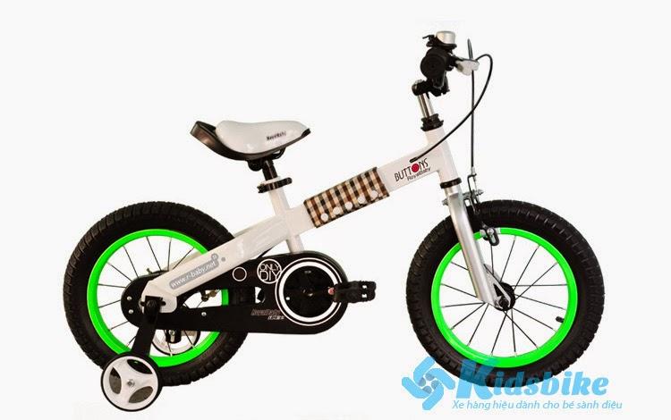 Xe đạp trẻ em Royal Baby Buttons nhập khẩu, thương hiệu Anh hiện đang độc quyền bán tại Kidsbike.vn