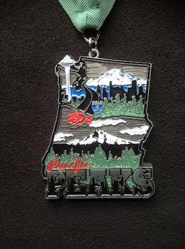 2013 Pacific Peaks medal