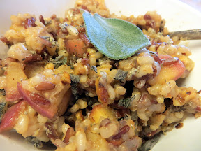 Harvest Quinoa with Apple and Walnuts
