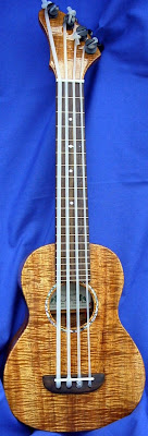 David Gomez tadpole Concert Bass at Lardys Ukulele Database