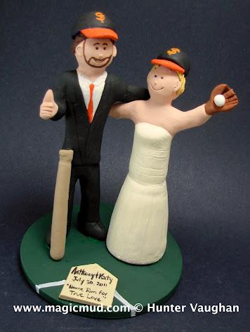 Sf Giants Cake Topper