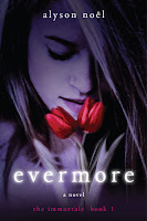 Book Review: Evermore (The Immortals, Book 1), By Alyson Noel Cover Artwork and image