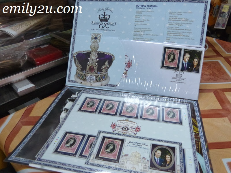 stamps coins collection