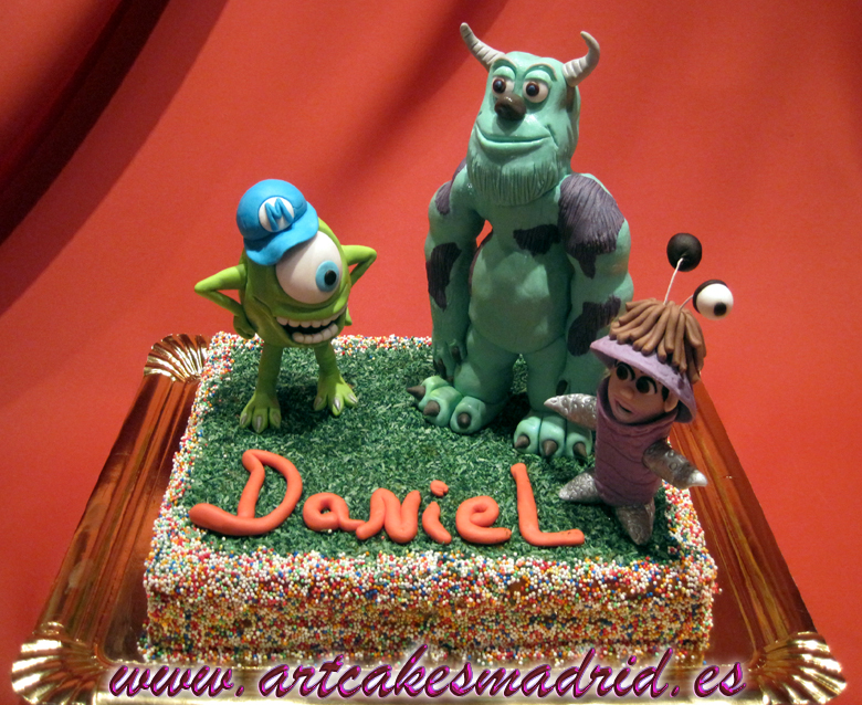 montruos sa,tartas decoradas, cumpleaños
