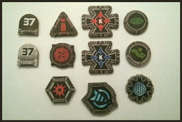 Tokens cartón X-Wing
