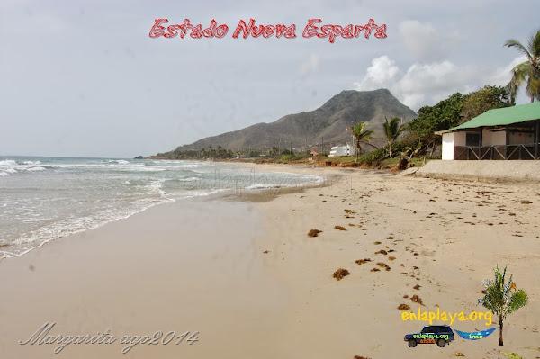 Playa El Tirano NE032, estado Nueva Esparta, Municipio Antolin del Campo