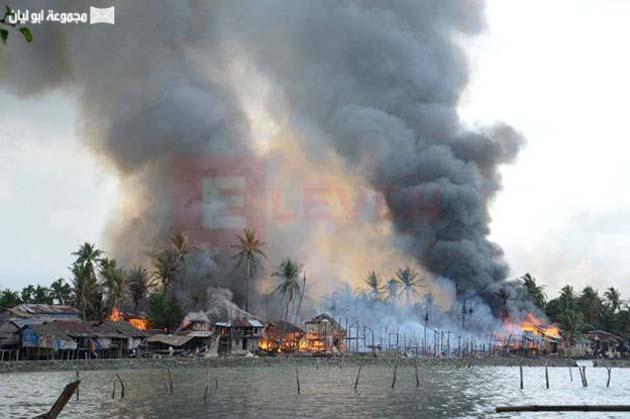 بورما : لن يستطيع العالم نجدتهم لأن الوقت سينفذ ( صور مؤلمه )