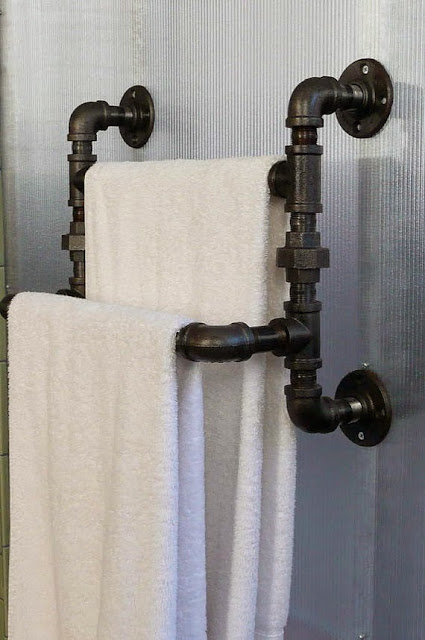 industrial look 26 stylische m bel aus rohrverbindern dekomilch. Black Bedroom Furniture Sets. Home Design Ideas