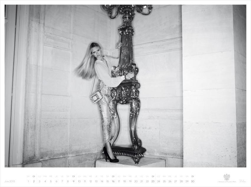 *Piotr Stoklosa 鍾情洛可可:拍攝系列 2013 Polish Embassy in Paris年曆! 10