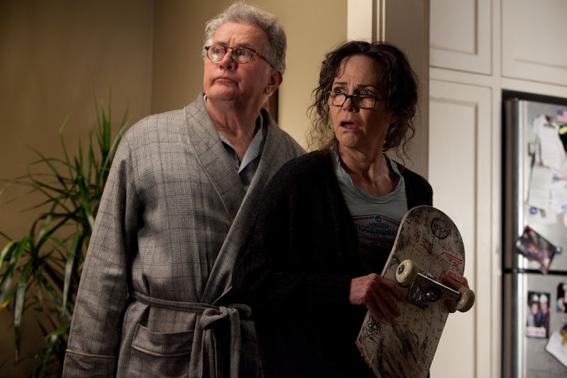 Martin Sheen and Sally Field are Uncle Ben and Aunt May in The Amazing Spider-Man