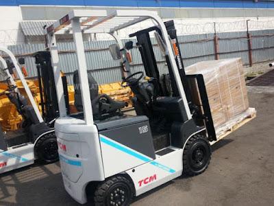 Xe nâng điện TCM 2 tấn FB20-8