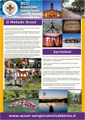 iscrizione agli scout