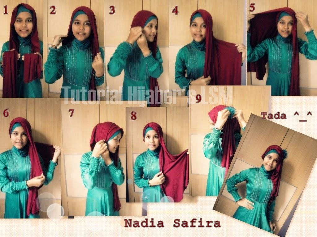 NEW TUTORIAL HIJAB PASHMINA SIFON NATASHA FARANI Hijab Tips