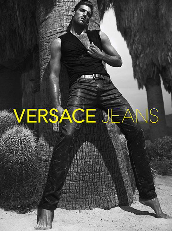 Ryan Barrett by Mert & Marcus for Versace Jeans S/S 2012.