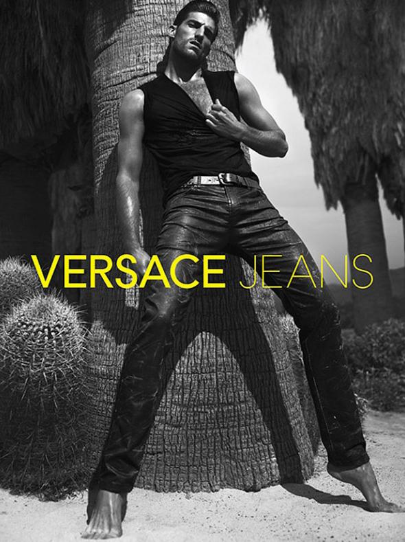 Ryan Barrett by Mert & Marcus for Versace Jeans S/S 2012.
