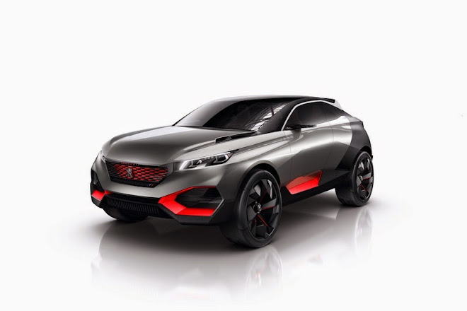 PARIS 2014 - Peugeot Quartz Concept