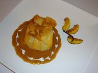 croustillant aux pommes rôties au beurre salé